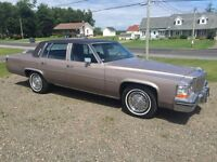 REDUCED only **19500 km** 1984 Cadillac D'elegance Deville