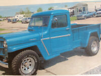 1962 jeep whillys truck