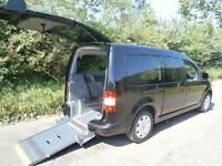 2009 Volkswagen Caddy Maxi Life 1.9 TDI PD 5dr DSG AUTO WHEELCHAIR ACCESSIBLE...