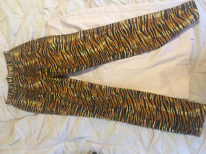 Tiger print Deadly Dames pants by michelline pitt