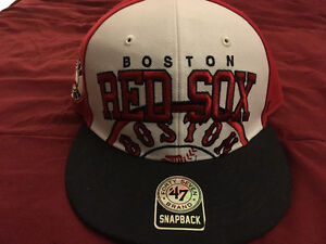 Mint condition-Boston Red Sox SnapBack hat-never worn