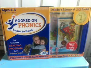 Hooked on Phonics - The complete reading program ages 4-8