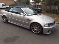 BMW M3 CONVERTIBLE SMG AUTOMATIC HPI CLEAR CHEAPEST 2004