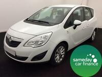 £153.00 PER MONTH VAUXHALL MERIVA 1.4 16V ACTIVE MPG DIESEL MANUAL