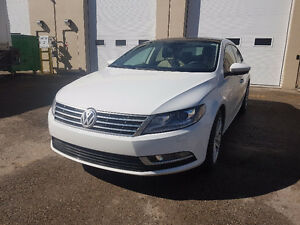 **REDUCED** 2013 VW CC Sportline White Low Mileage