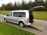 2014 Volkswagen Caddy Maxi Life 1.6 Tdi ONLY 32K Wheelchair Accessible Vehicle