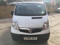 2009 Vauxhall Vivaro VIVARO 2700 CDTI SWB 5 door Panel Van