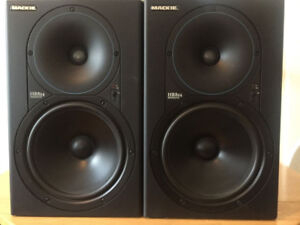studio monitor Mackie HR824 matched pair, made in USA