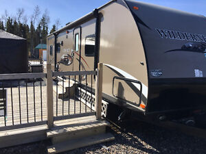 32' Trailer at Candle Lake Golf Resort