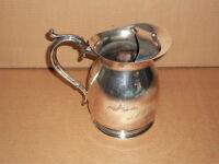 Silver Plated, Commemorative Milk Pitcher