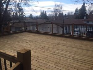 23' x 19' Beautiful Deck Materials!  PRICE REDUCED!