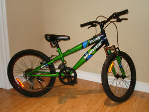 """Youth bicycle in excellent condition - 20"""" wheels"""