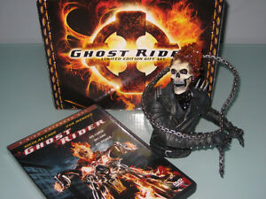 Ghost Rider Limited Ed. DVD and Figurine Set *New*