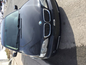 2003 BMW 3-Series Noir Berline