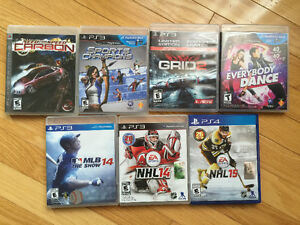 7 PS3 and PS4 games
