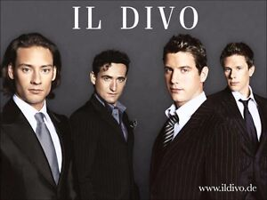 2X IL DIVO TICKETS FOR SALE