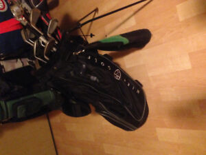 Nike golf bag + full set of strata clubs+ diablo edge driver