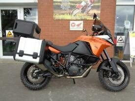 KTM 1190 ADVENTURE WITH FULL KTM PANNIERS AND TOP BOX