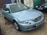 Rover 45 diesel low millage 75 k 295
