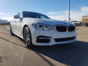 Save $1,000's 2018 BMW 530i AWD w/M Performance Package