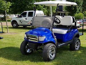 2015 club car precedent custom golf cart