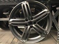 "Set of 4 19"" alloy wheels alloys rims seat skoda Audi Vw Volkswagen 5x112"