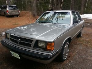 K-Car 1988 Dodge Aires LE $5500/trade
