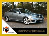 2012 MERCEDES BENZ C CLASS COUPE C250 CDI BlueEFFICIENCY AMG Sport 2dr Auto