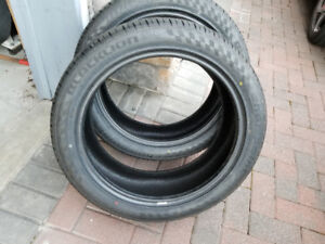 """Like New - TWO Blacklion ZR High Performance 20"""" tires"""