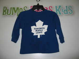 Boy's 2T Toronto Maple Leafs long sleeve