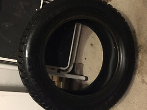 FOUR USED ALTIMAX ARCTIC 195/60 R15 WINTER TIRES FOR SALE