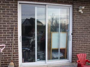 4 Fenêtres et une porte patio TOUS en aluminium