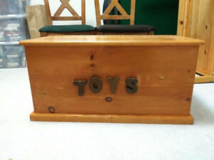 Solid Wood handmade toy box