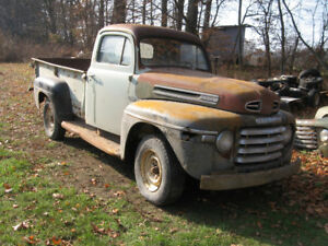 1949-50 Mercury 3/4 ton pickup, complete, good condition