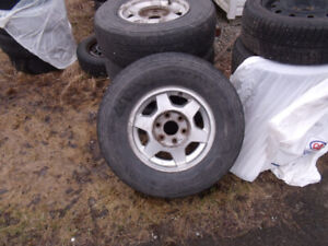 chev mags and tires