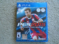 PES 2015 for PS4 in MINT condition ! ONLY $20 !