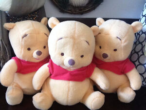 """Adorable 10-Inch """"Baby"""" Pooh Bears"""