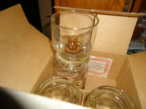 Wiser's drinking glasses