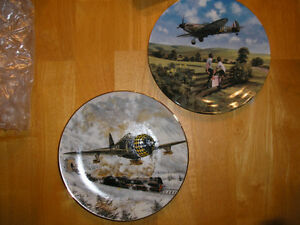 111 +, Military Aircraft Beautiful Hanging Art Collector Plates