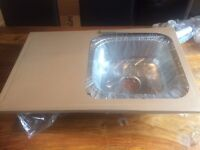 Stainless steel kitchen sink Brand New Boxed