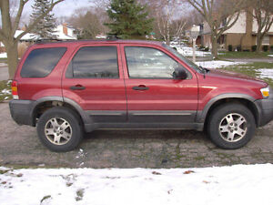 2005 Ford Escape XLT SUV, Crossover London Ontario image 2