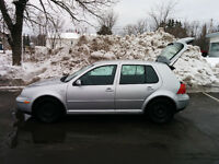 **REDUCED** 2003 Volkswagen Golf GL TDI w/Winter Tires