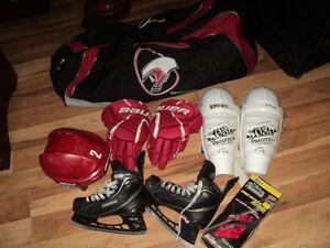 kit de hockey pour garcon