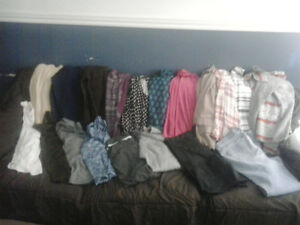 Womens LG/XL clothing $15 for all