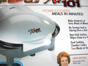 new omelet and sandwich maker-bakes,grills