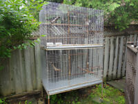 Extra Large Double Stacked (Breeding) Cage for Pets/Bird