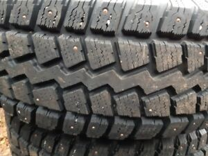 P235/75 R15 studded winter tires
