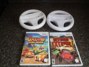 4 Wii Accessory Packages-All with Games