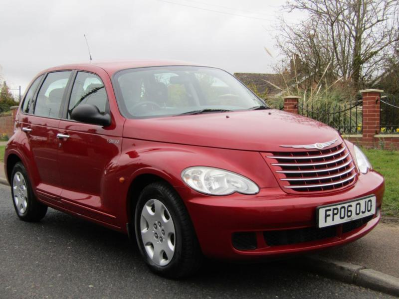2006 chrysler pt cruiser 2 2 crd classic 5dr turbo diesel 5 door hatchback in halesworth. Black Bedroom Furniture Sets. Home Design Ideas