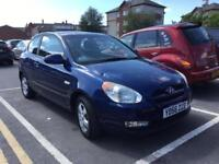 56 Hyundai Accent 1.4 Atlantic 3 Dr 12 service stamps, drives 100% £595 p/ex ANY